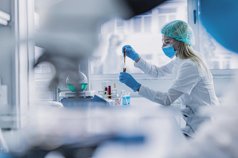 Pharmacist Creating a Custom Compound